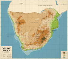 The Union of South Africa, 1968 by TheKutKu