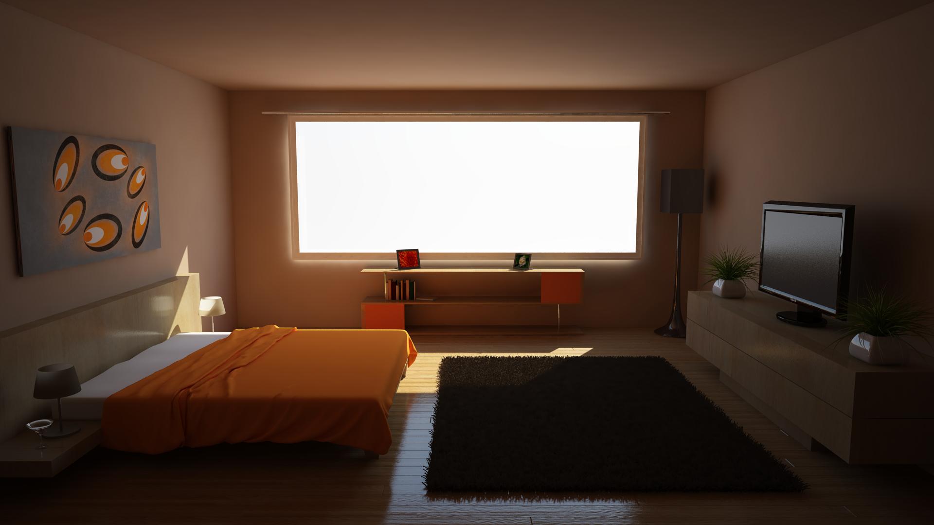 Orange Bedroom(READ DESCRIPTION) by MasonButts on DeviantArt