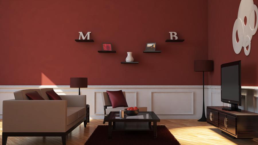 Living Room Link Coleccion Vitrina