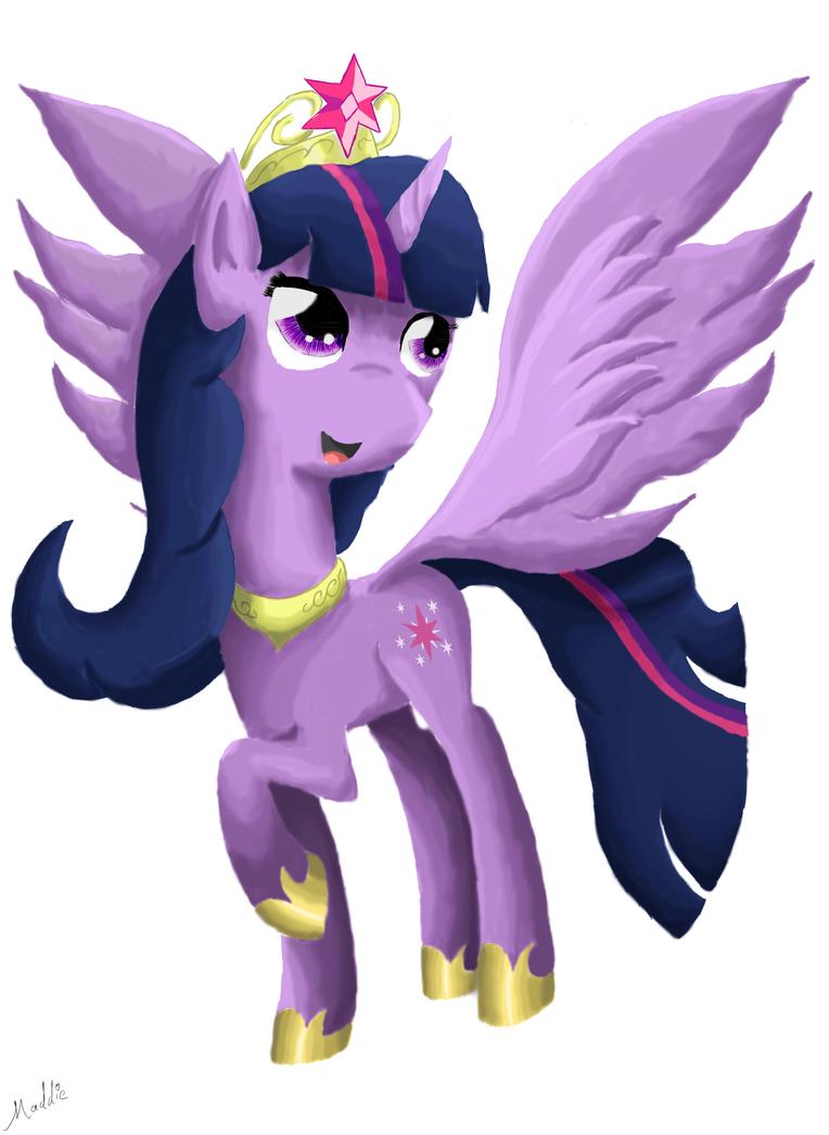 Princess Twilight Sparkle (request) by ChaosGiant