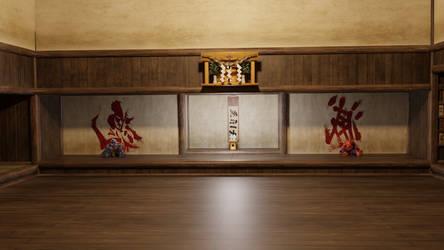 Street Fighter V - Dojo (stage)