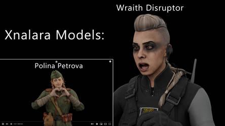 COD - Polina and Wraith by MiaNariaLira