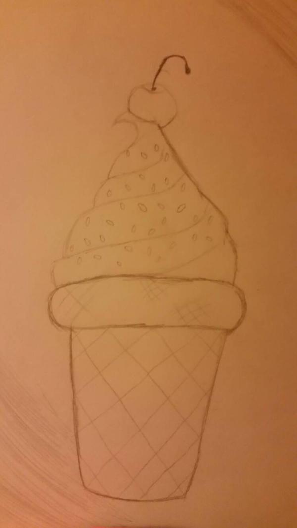 Ice cream Sketch