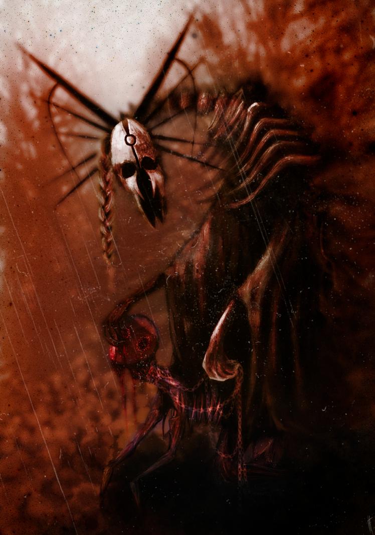 Grim Rider by fearyzy
