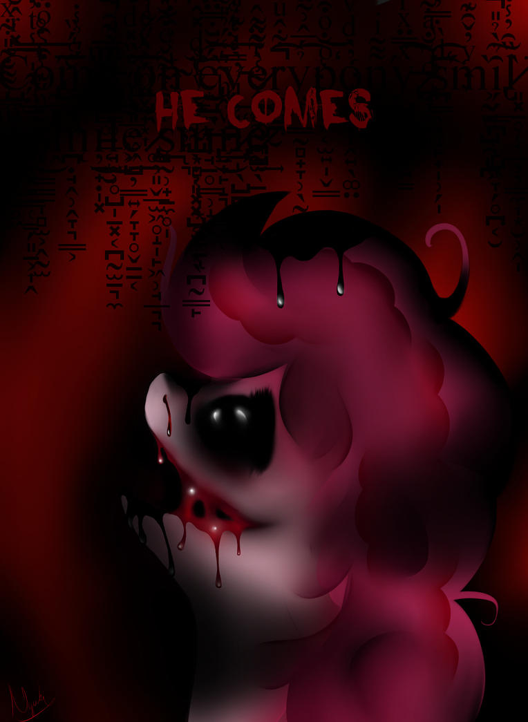 HE COMES - Zalgo Pinkie Pie by Lilitihum on DeviantArt