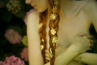 Young girl blooming by PsycheOphiuchus