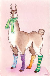 Llama Mama by llama-gurl