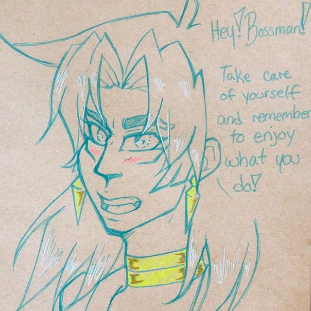 Yuugiou - Malik - Encouragement by gyakuten-no-megami
