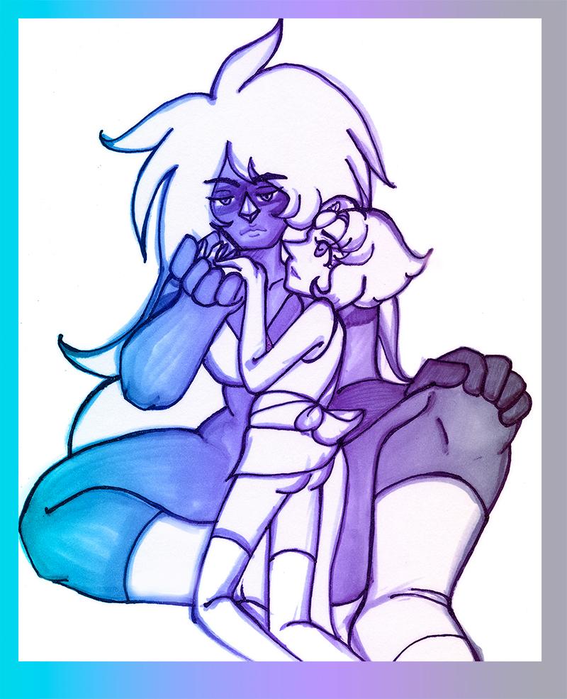 Steven Universe - JasperxPearl - Glazed by gyakuten-no-megami