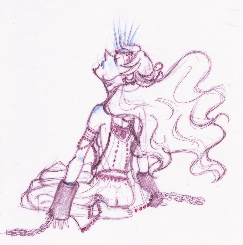 Steven Universe - Pearl - Dream a Dream by gyakuten-no-megami