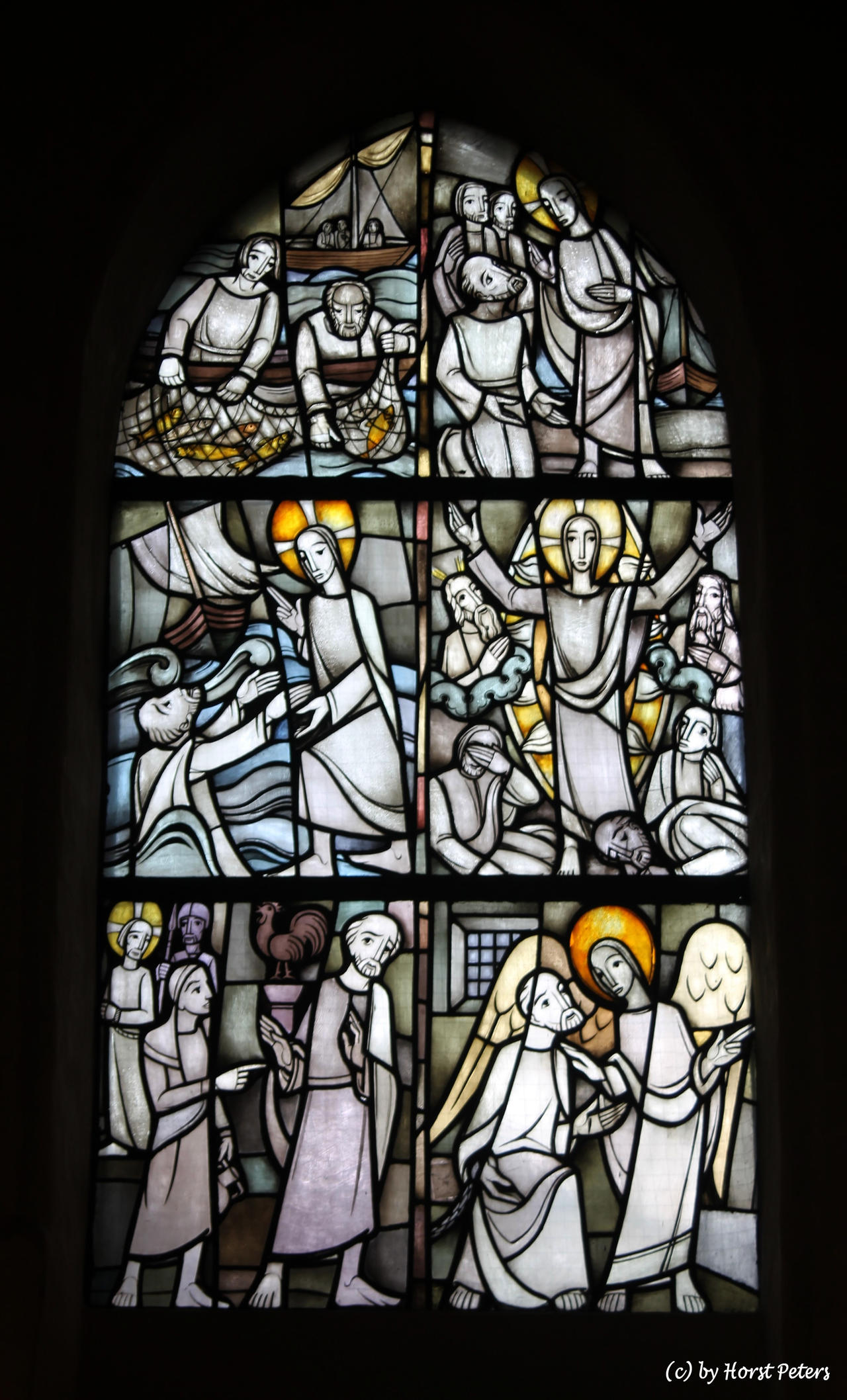 Church window 3 by bluesgrass