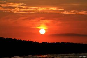 Sunset over Tromper Wiek 4 by bluesgrass