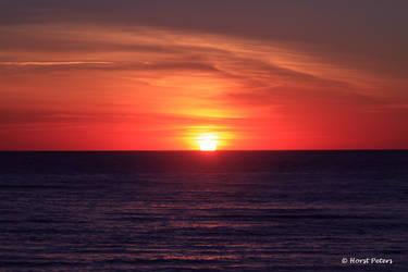 Sunset near Sondervig DK by bluesgrass