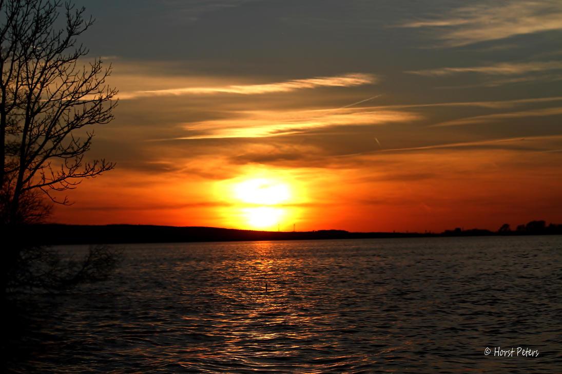 Sonnenuntergang am Steinhuder Meer 3 by bluesgrass