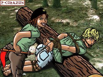 Scoutgames 7 by bondageincomics