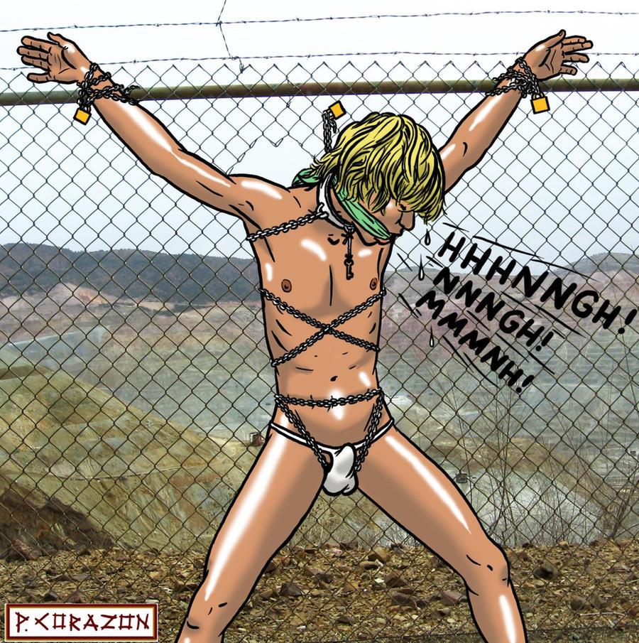 Male bondage cartoons