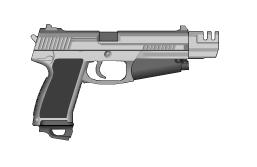 S5 .:Leon's Pistol:. by SpectraTaika