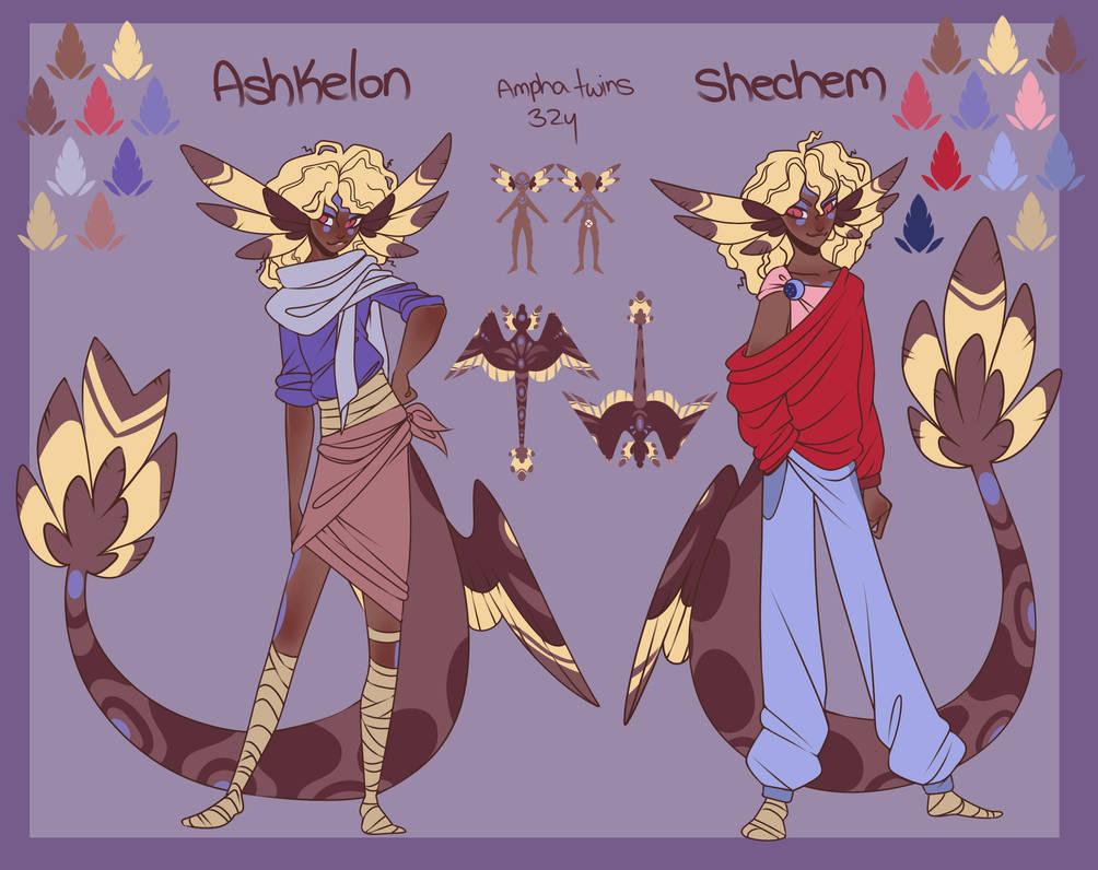 Shechem and Ashkelon REF by Accidental-Strix