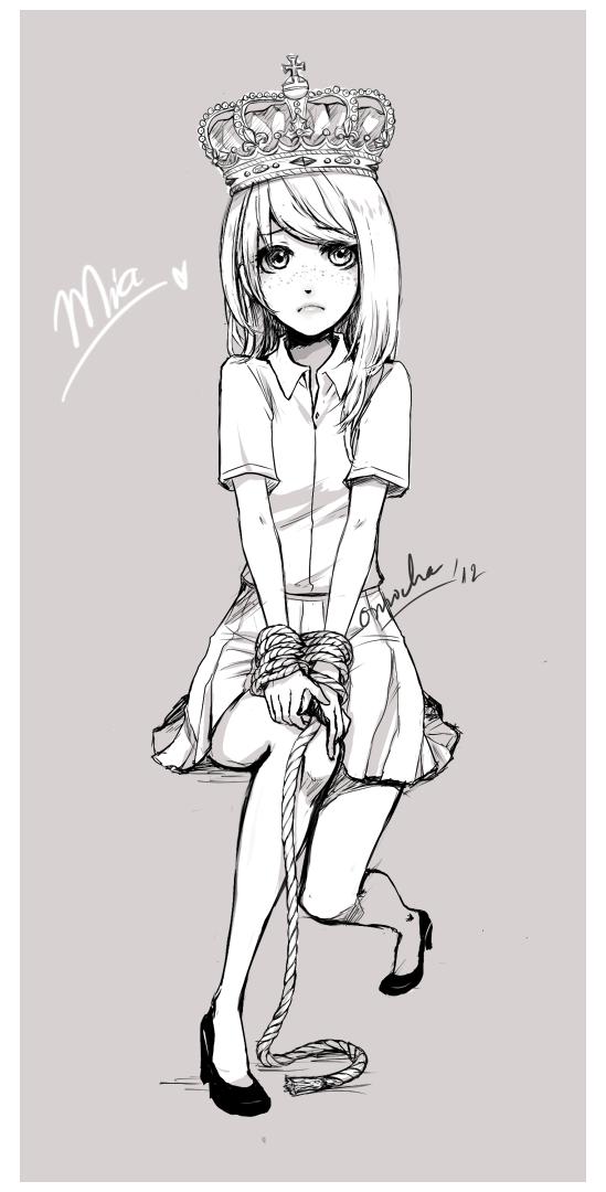 Commission : Mia by ZenithOmocha