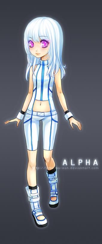 Commission: Alpha by ZenithOmocha
