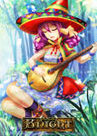 Magic Knight: Singing girl by ZenithOmocha