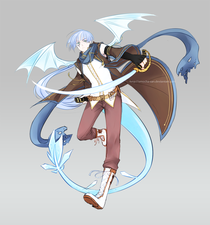 Commission: Axten by ZenithOmocha