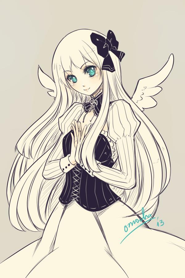 Commission: Gwen by ZenithOmocha