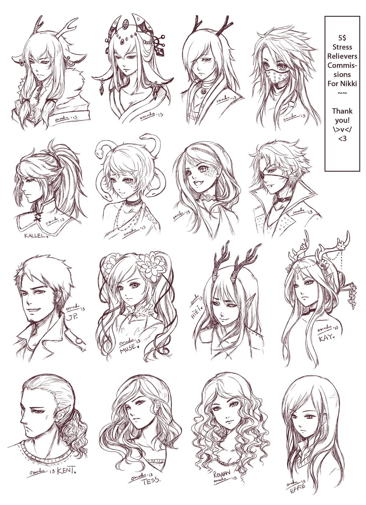 SRC - Batch 3: Nikki's by ZenithOmocha