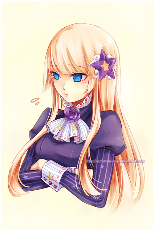 Bonus gift: Astraia portrait by ZenithOmocha