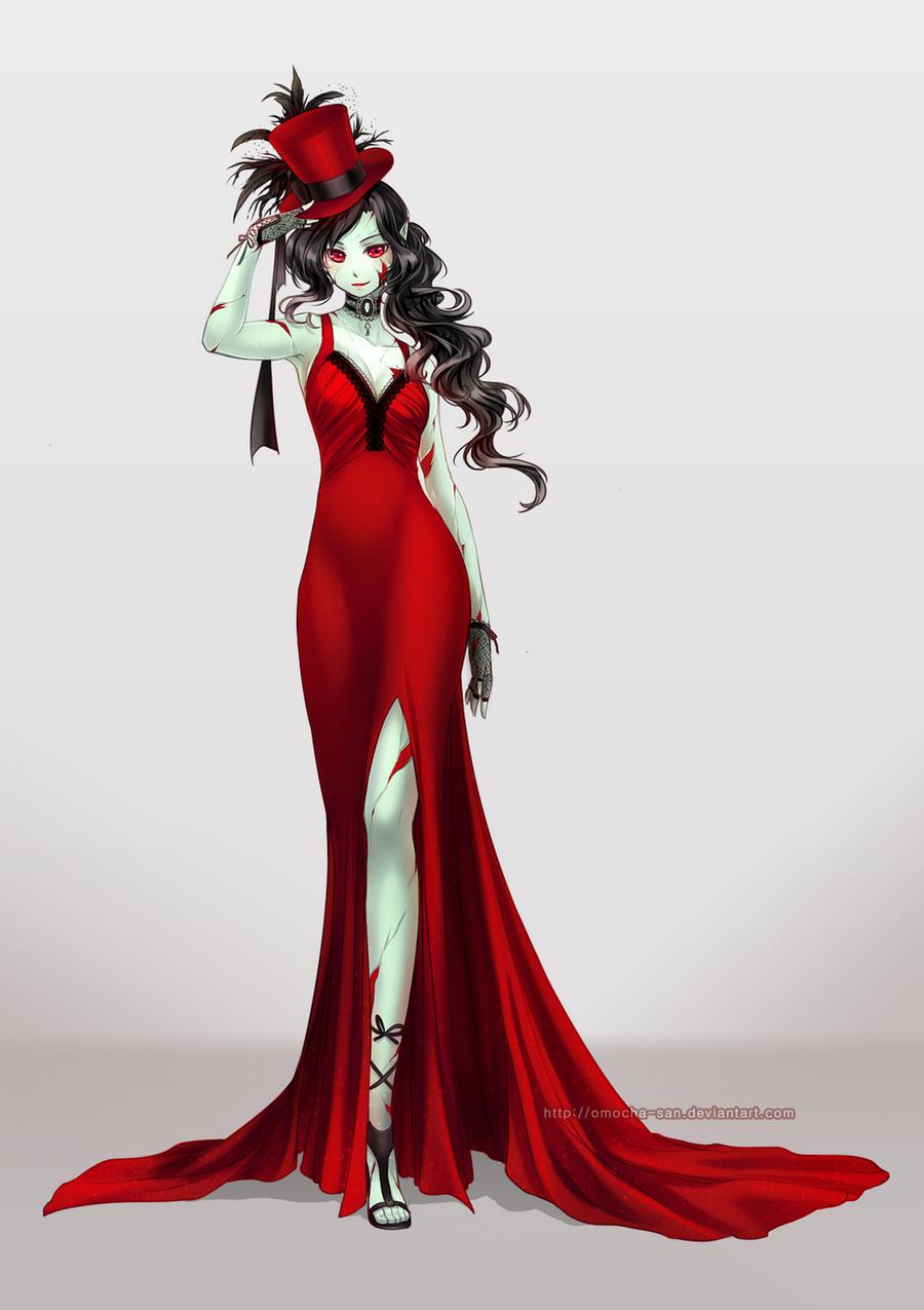 Commission: Rosmiera Vaughn by ZenithOmocha