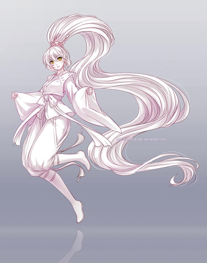 Commission: Natsuki by ZenithOmocha