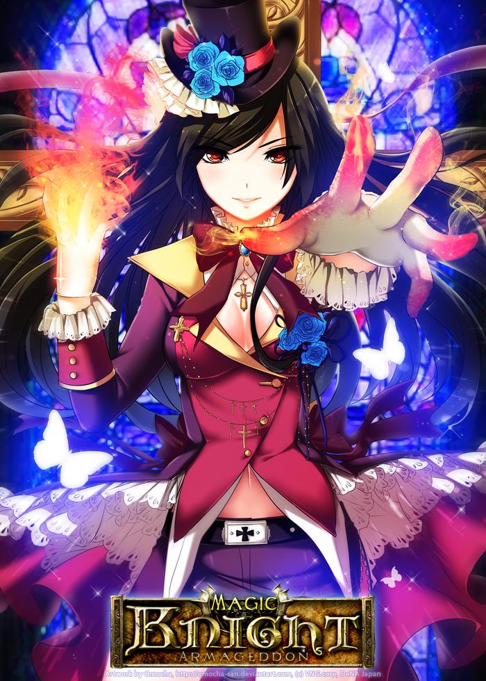 Magic Knight: Fire Magician by ZenithOmocha
