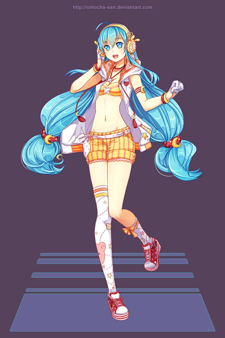 Commission: Sporty Luna by ZenithOmocha