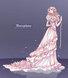 Commission: Persephone by ZenithOmocha
