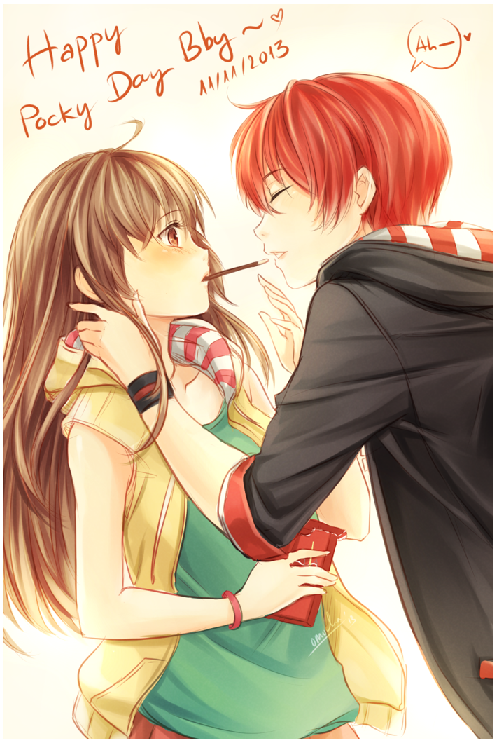 Happy Pocky day~! by ZenithOmocha