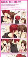 KISS MEME WITH WAIFUUUU
