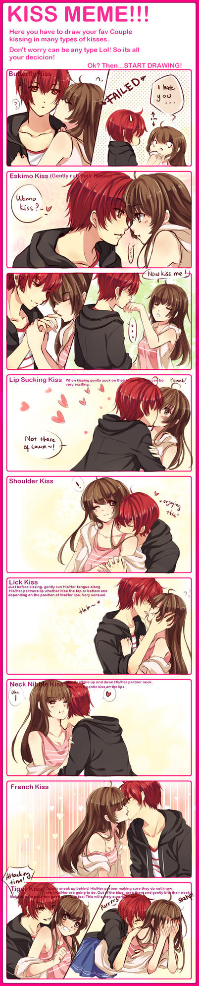KISS MEME WITH WAIFUUUU by ZenithOmocha