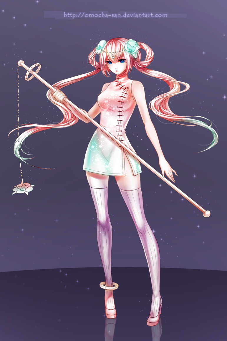 Commission: Lyuca by ZenithOmocha
