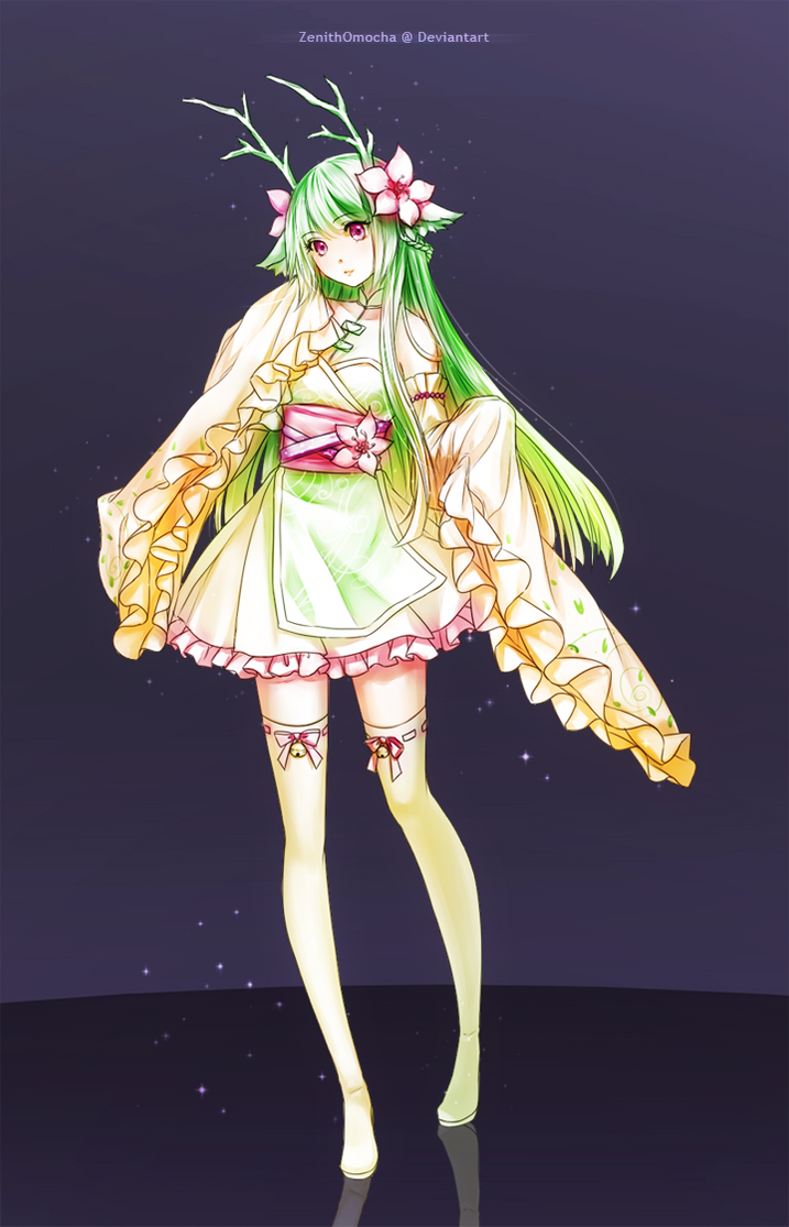 Commission: Harumiko by ZenithOmocha
