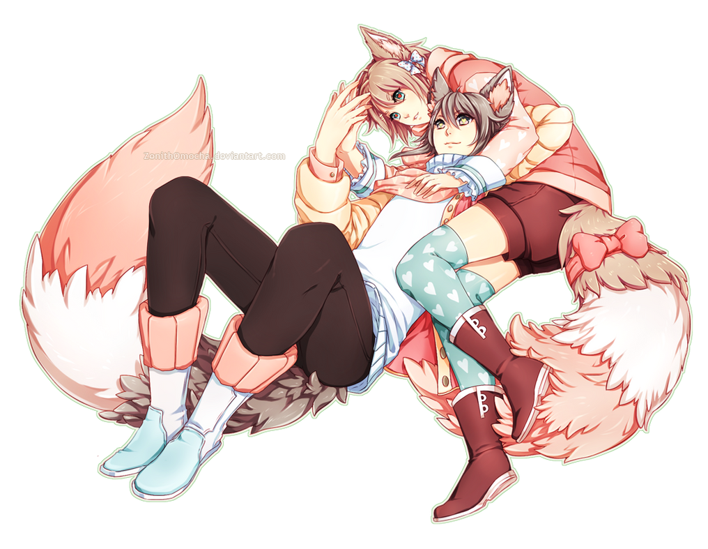 Commission: Kururu x Kaoru by ZenithOmocha