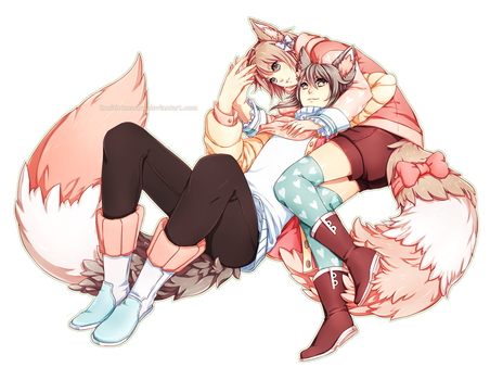 Commission: Kururu x Kaoru