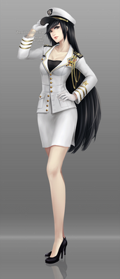 Commission: Navy officer Akiko