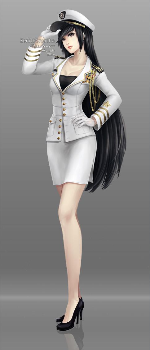Navy Dress Black Tights Black Shoes