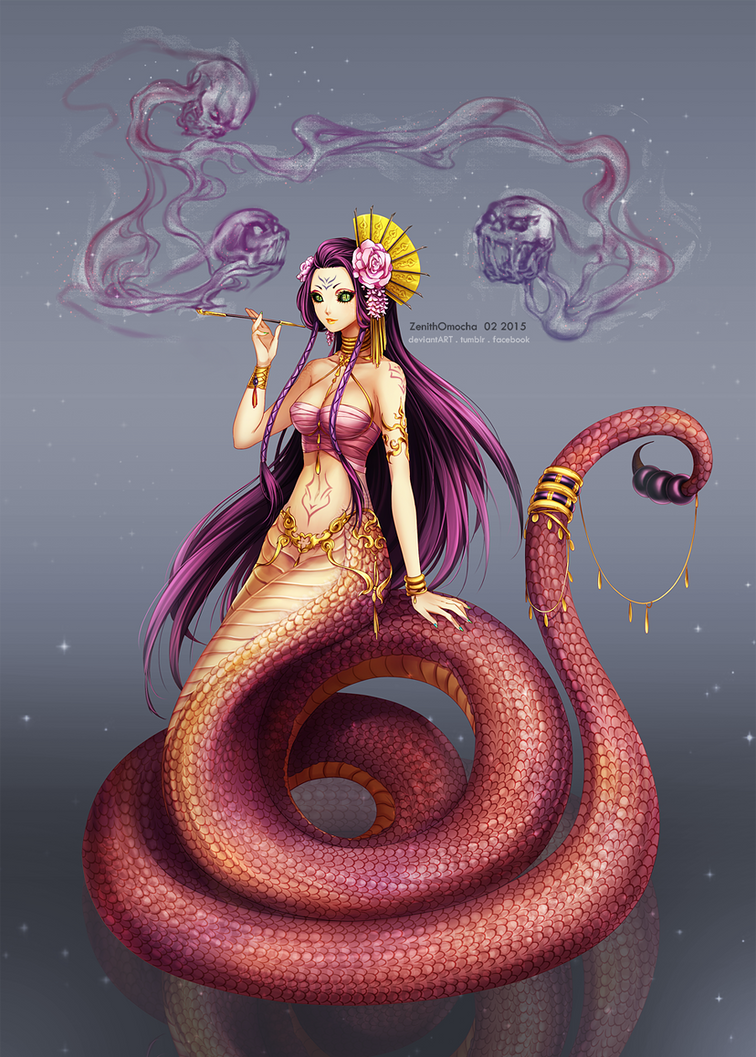 adopt nalla the naga by zenithomocha on deviantart