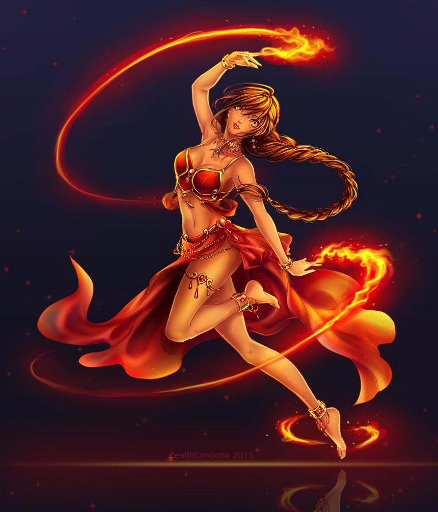 Commission: Amara by ZenithOmocha