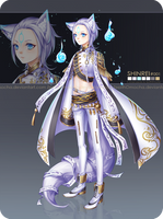 [CLOSED] Shinrei #001 by ZenithOmocha