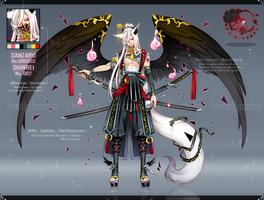 [CLOSED] Sanzaru #3 x Shinrei #2 hybrid by ZenithOmocha