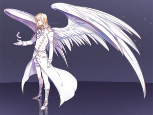 Commission: Gabriel by ZenithOmocha