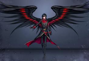 Commission : Fallen Gabriel by ZenithOmocha