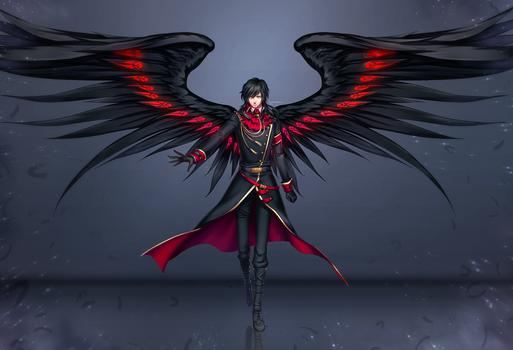 Commission : Fallen Gabriel
